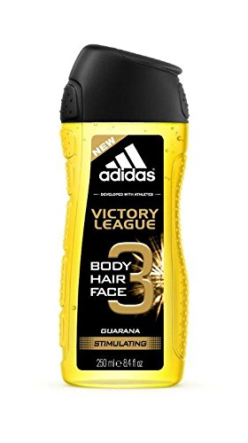 (Adidas Victory League Guarana Stimulating 3-in-1 Hair, Body, Face Shower Gel )