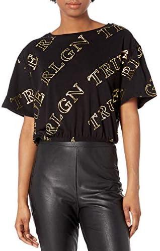 True Religion Damska T-Shirt: Odzież