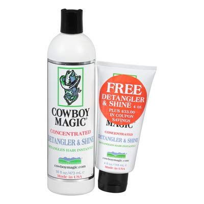 Cowboy Magic Detangler - Cowboy Magic Detangler & Shine Promo Pack 16 Ounce + 4 Ounce & $33 in Coupons