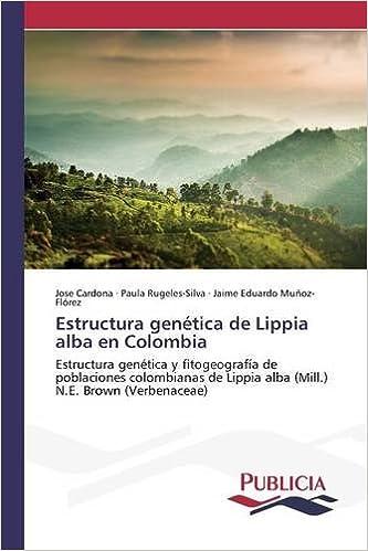 Estructura genética de Lippia alba en Colombia