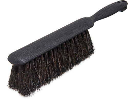 Carlisle 3615000 Flo-Pac Horsehair Blend Counter/Duster Brush, 8 Inch