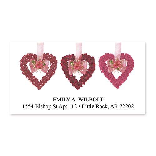 Hearts Return Address Labels - 4