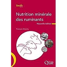 Nutrition minérale des ruminants (Savoir faire) (French Edition)