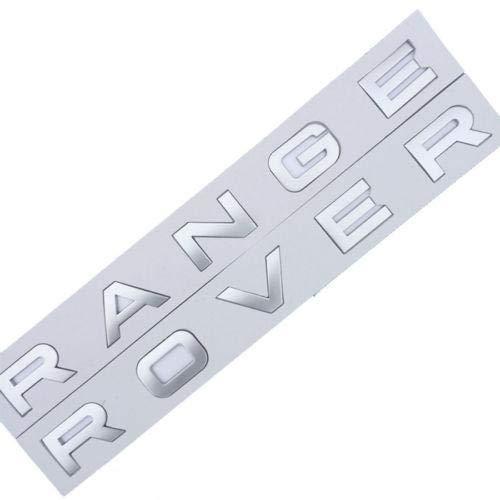 CGS RangeRover Matte Silver Letters 2 Sets