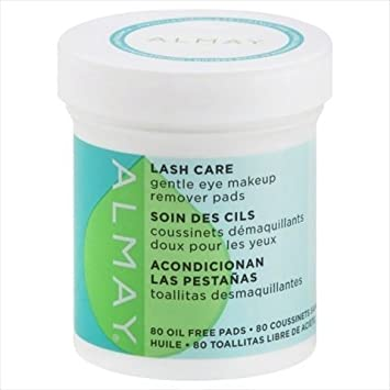 Amazon.com : Almay Lash Care Gentle Eye Makeup Remover Pads 80 ct by Almay : Beauty