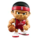 Philadelphia 76ers Official NBA 2 inch x 2.5 inch x 3 inch Lil Teammates NBA Playmaker Series 1 Toy Figure by Party Animal Inc 701234