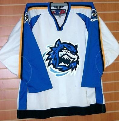 Bridgeport Sound Tigers AHL SP Authentic On Ice Game Issued Hockey Jersey - Stores Bridgeport