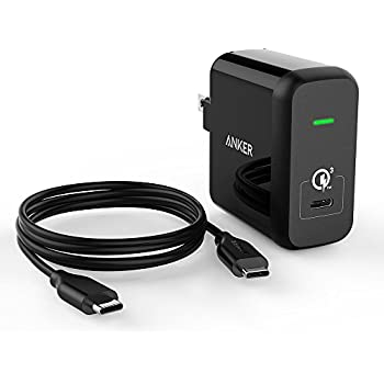 Anker Quick Charge 3.0 and USB Type-C 24W USB Wall Charger, PowerPort+ 1 for Galaxy C9 Pro, Nexus, Moto and More