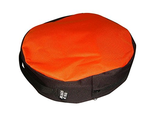 Jumper Cable Bag By Bags USA MFG Made in U.s.a. Orange