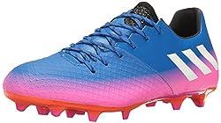 adidas Performance Men's Messi 16.2 FG Soccer Shoe, Blue/White/Warning, 11 M US