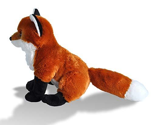 41xAzD931pL - Wild Republic Red Fox Plush, Stuffed Animal, Plush Toy, Gifts For Kids, Cuddlekins 12 Inches