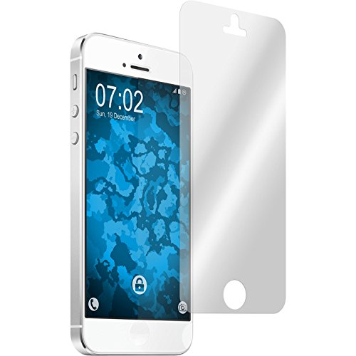 PhoneNatic Apple iPhone 5 / 5s / SE Coque en Silicone animaux vecteur M3 Case iPhone 5 / 5s / SE + films de protection