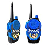 Mideand Walkie Talkies for Kids, Long Range FRS 2 Way Radio Toys, Boys and Girls Handheld Mini Walkie Talkies Role Play Toys (Blue)