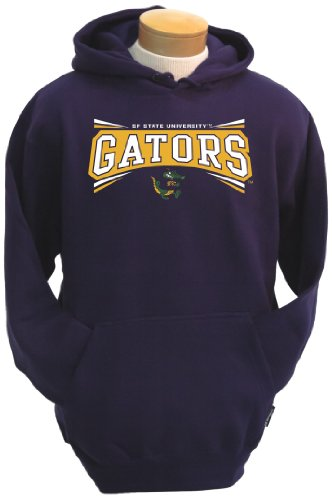 NCAA San Francisco State Gators Men's Condor Hooded Sweatshirt (Purple, XX-Large)