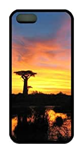 Beautiful view at dusk TPU Black new iphone 5 cases for Apple iPhone 5/5S by mcsharks