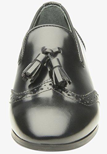 SHOEPASSION No. 60 WL Edler Sommerschuh für Damen. Handgefertigt Aus Feinstem Leder in Italien. Atmungsaktiv, Leicht & Bequem. Schwarz