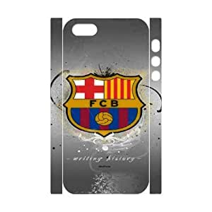 iphone 5 5s Cell Phone Case 3D Sports fc barcelona emblem Customized Gift pxr006_5261904