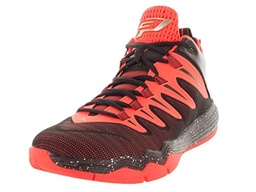 Jordan Nike Men's CP3.IX Hypr Orange/Mtlc Gld STR/Blk/Inf Basketball Shoe 8.5 Men US (Jordan Shoes Plain Black)