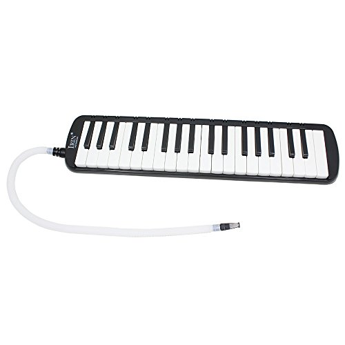 ammoon 37 Piano Keys Melodica Pianica Musical Instrument with Carrying Bag for Students Beginners Kids (Musical Key)