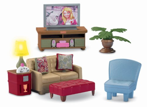 Loving Family Dollhouse Chair (Fisher-Price Loving Family Family Room)