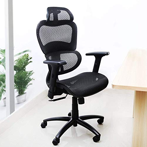Ergonomic Office Desk Chair With Breathable Mesh And 3d Adjustable Arm Rests Computer Chair Height Adjustable Any Angle Back Adjustable To 135 Tilt Tension Black