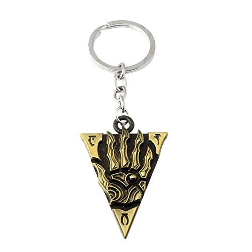 Superheroes Brand The Elder Scrolls Keychain Key Ring Game Gaming Movie Auto/Boat House Keys (Bag Scroll Naruto)
