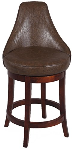 (Chintaly Imports 0290 Solid Birch Bar Swivel Stool,)