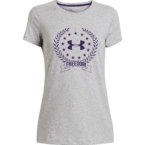 Women's UA Freedom Logo T-Shirt by Under Armour
