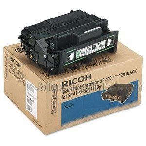 RICOH 407000 - Ricoh Type 120 Toner Cartridge - Black - Laser - 15000 Page - 1 (Black Toner Cartridge 120)