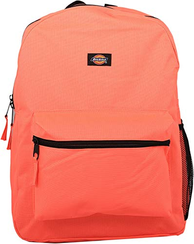 Dickies Student Backpack, Neon Coral, One Size