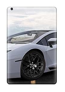 Hot PwhoDbc4430PzBWH White Lamborghini Aventador Tpu Case Cover Compatible With Ipad Mini/mini 2