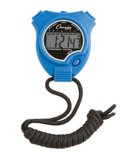 Champion Sports Stopwatch Color: Blue (910BL)