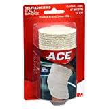 ACE Self-Adhering Bandage 4 Inches 1 Each (Pack of 9)