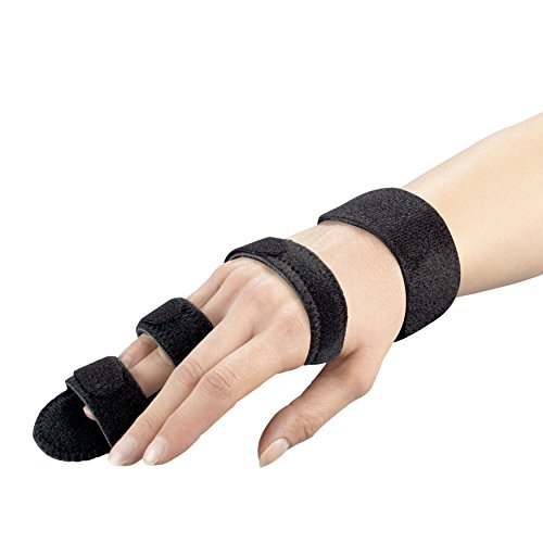 Finger Immobilizer Hand Splint, Fracure Recovery Support, Small ()