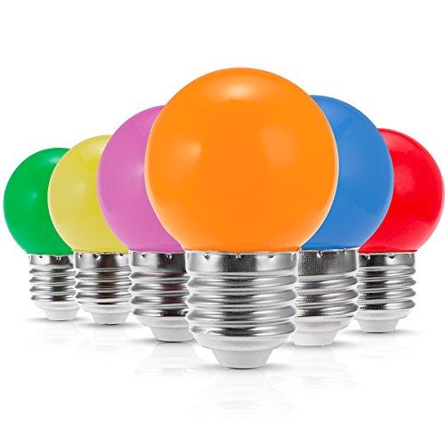 globe light bulb pack - 7