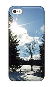 Case Cover Winter Sun/ Fashionable Case For Iphone 5/5s