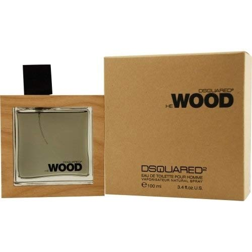 - He Wood By Dsquared2 For Men Edt Spray 3.4 Oz