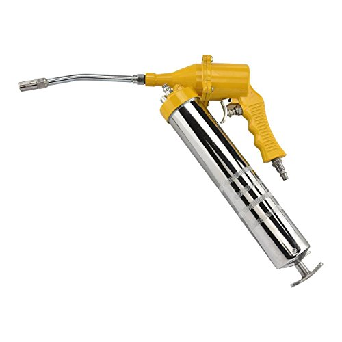 "Air Pneumatic Grease Gun | 1/4"" NPT Inlet 14oz Cartridge Greasing Greaser Tool"
