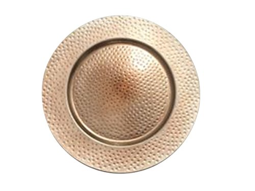 Copper Charger Plate (The Urban Port Set of 8 Copper Charger Plate)