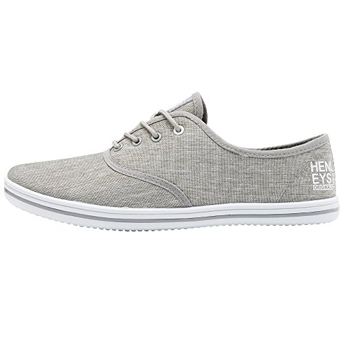 KRMSL373 Milo Shoes Grey Canvas Men's Foundation Quiksilver SqwAXfIF