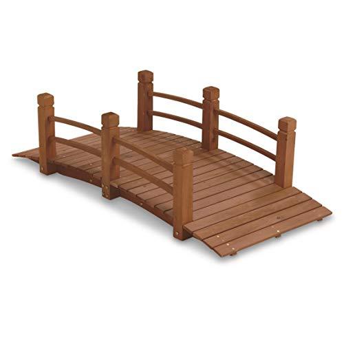 - CASTLECREEK Wooden Garden Bridge