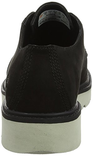 Mujer Oxford Zapatos Timberland Nubuck de Negro Cordones Kenniston 001 Lace Up para Black qx8SU