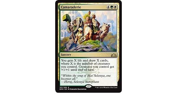 Amazon Com Magic The Gathering Camaraderie 157 259 Guilds Of