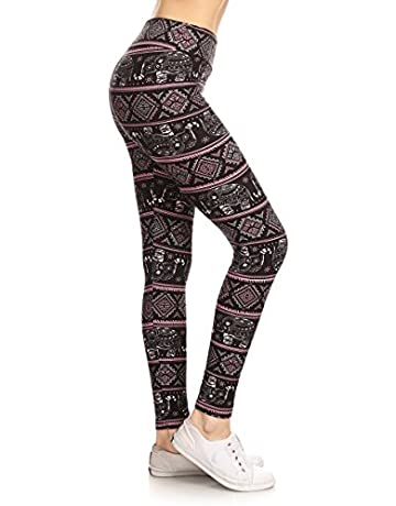 2f5c2b112de8ca Leggings Depot Yoga Waist REG/Plus Women's Buttery Soft Leggings