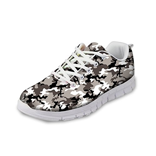 Basso 2 Collo Print Donna Nopersonality Camouflage SgzwCq