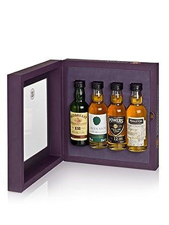 Midleton Single Irish Pot Still Whiskey Miniatures Gift Set: Amazon.co.uk: Grocery