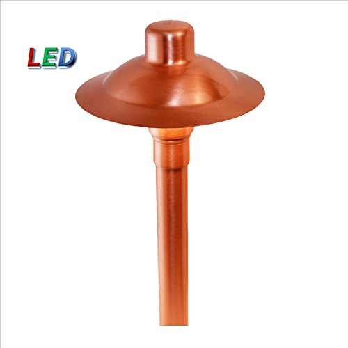 Solid Copper Path Light