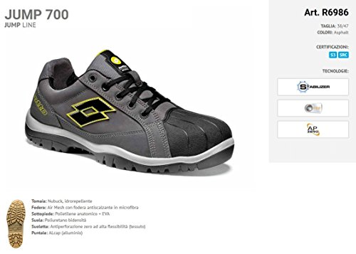 Jump Lote Lotto nbsp; 700 Zapato Seguridad qvxwnzHB6