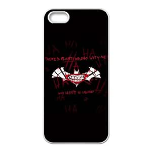 iPhone 5 5s Cell Phone Case White Plenty Wrong With Me The Joker B2W9NV