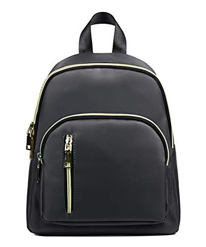 ackpack Purse Waterproof Nylon Fashion College Bag Daypack Dark Grey ()